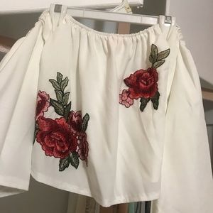 Rose Top Size Large Crop